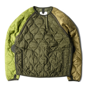 "EASTLOGUE Quilting Sweat Jumper ""Mixed Olive"""