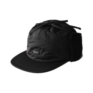 "LIFUL Fleece Ear Flap Cap ""Black"""