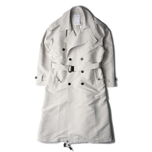 "POST ARCHIVE FACTION Trench Coat ""Ivory"""