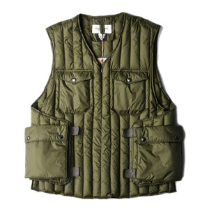 "EASTLOGUE Armour Down Vest ""Olive"""