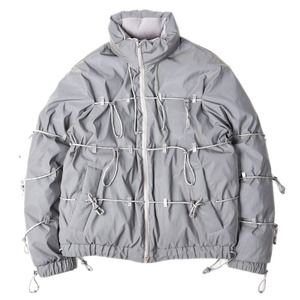 "POST ARCHIVE FACTION [L] String Down Jacket ""Reflective"""