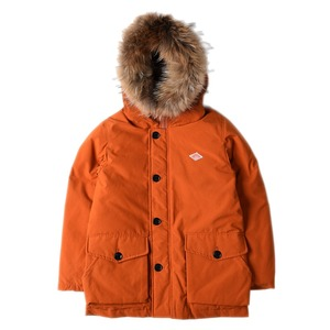 "DANTON #JD-8532 Rakoon Hood T/C Tusser Down Jacket ""Burnt Orange"""