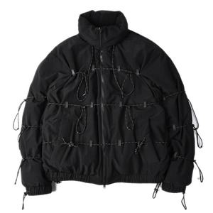 "POST ARCHIVE FACTION [L] String Down Jacket ""Black"""