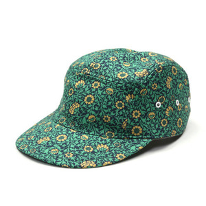 "DECHO Jet Cap Leather Backle ""Green"""