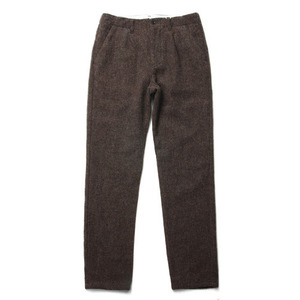 "Still by Hand Wool Slacks ""Moca"""