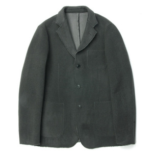 "ID DAILYWEAR Double Face Cut Off Jacket ""Charcoal"""