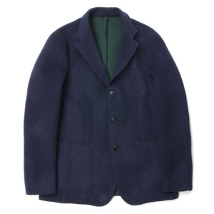 "ID DAILYWEAR Double Face Cut Off Jacket ""Navy"""