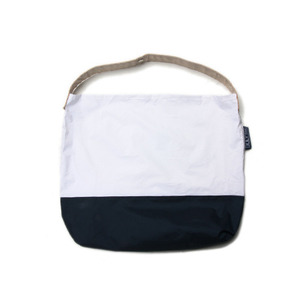 "July Nine Regular Sushi Sack 18"" Two-Tone ""White&Navy"""