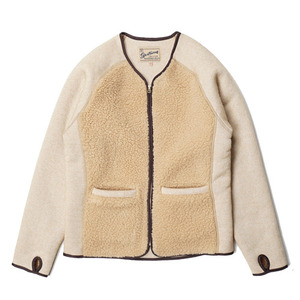 "Gooseberry Lay & Co. Grizzly/Teddy Cardigan ""Oatmeal and Beige"""