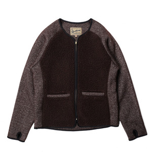 "Gooseberry Lay & Co. Grizzly/Teddy Cardigan ""Brown"""