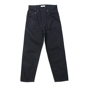"HATSKI Loose Tapered Denim ""Indigo Black"""
