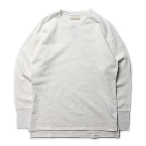 "RDV O GLOBE Romeo Cotton Sweat Shirts ""White"""