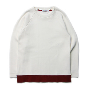 "ID DAILYWEAR Ripple Long Sleeve Tee ""White"""