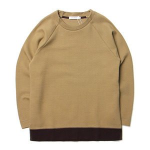 "ID DAILYWEAR Ripple Long Sleeve Tee ""Coyote"""