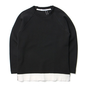 "ID DAILYWEAR Ripple Long Sleeve Tee ""Sumi"""