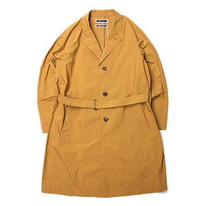 "KIIT P/N Taffeta Chester Coat ""Yellowbeige"""