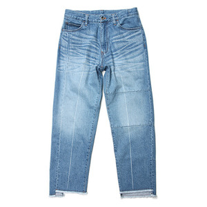 "KIIT Switching 12oz Denim Pants ""Indigo Bio Fade"""