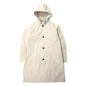 "Still by Hand Hooded Waterproof  Coat ""Beige"""