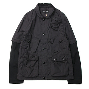 "East Louge Transmutable C-1 Jacket ""D.Grey"""