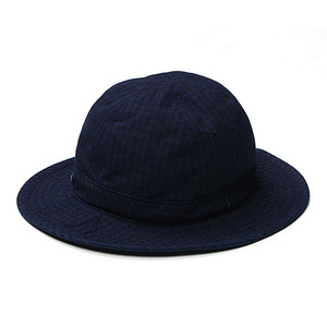 "East Logue Bucket Hat ""Indigo Gingham Check"""