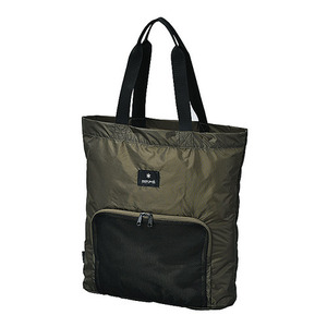 "Snow Peak Cordura Pocketable Tote Bag ""Olive"""