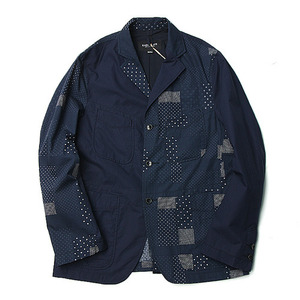 "East Logue 4 Pockets Sports Jacket ""Mixed Dot"""