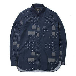 "East Logue Tab Collar Shirt ""Mixed Dot"""