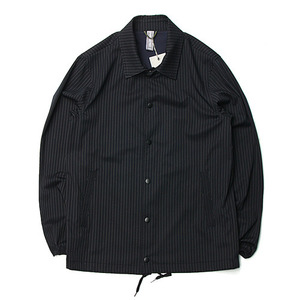 "Unaffected Coach Jacket ""Navy Pin Stripe"""