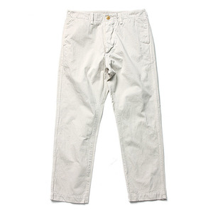 "Ordinary Fits Barefoot Trouser ""Light Grey Yellow"""