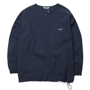 "NEITHERS Round Neck Anorak ""Navy"""