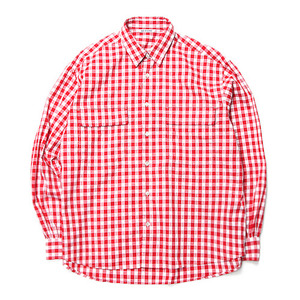 "NEITHERS 2-Pocket Wide Shirt ""Red"""