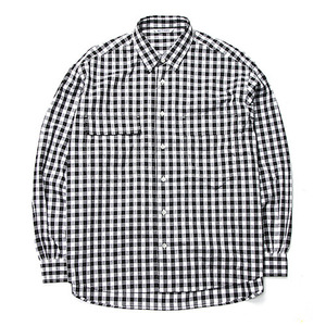 "NEITHERS 2-Pocket Wide Shirt ""Black"""