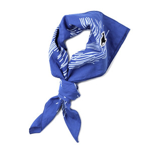 "NEITHERS Wave Of Southsea Scarf ""Blue"""