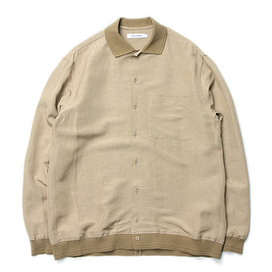 "ID DAILYWEAR Rib Long Sleeve Shirts ""Coyote"""