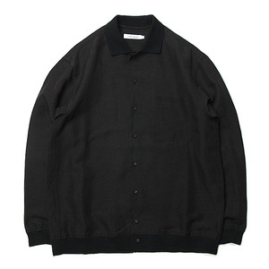 "ID DAILYWEAR Rib Long Sleeve Shirts ""Sumi"""