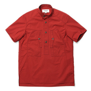"East Logue Work Half Shirt ""Burgundy"""