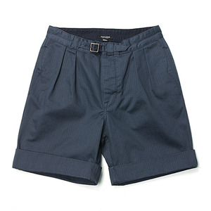"East Logue Gurkha Shorts ""Navy HBT"""