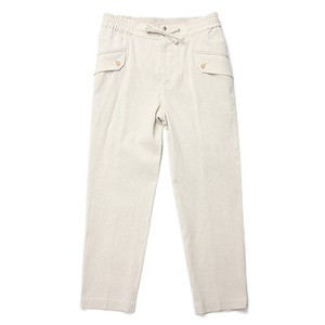 "Qlad Museum Workable Pocket Easy Pants ""Beige"""
