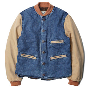 "Gooseberry Lay & Co. Sport Blazer Jacket ""Denim/Canvas"""