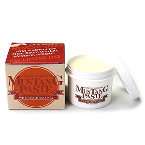 Mustang Paste Leather Maintenance horse Oli (100ml)